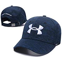 Salandens Gorras de Béisbol para Hombre - Molienda Borde Haga Viejo Sombrero de Bordado/Casquillo de Béisbol con Visera para Unisex Adulto para Deportes al Aire Libre (Negro+1)