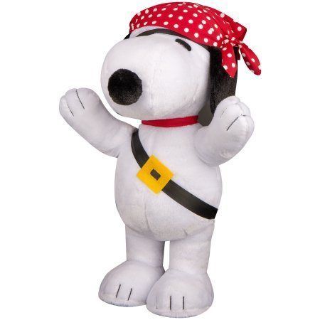 (Halloween Greeter-Pirate Snoopy 20