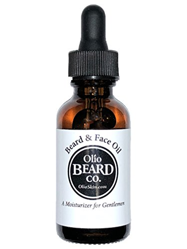 (Olio Beard & Face Oil: Hydration for Strong, Heathy Beards and Soft Skin w/ Acne Prevention (2oz, Cedarwood))