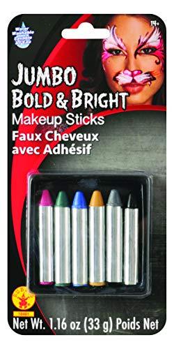 Rubies Jumbo Bright Makeup Sticks