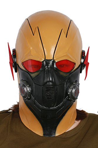 Hotwinds Walter Mask Helmet for Mens Halloween Cosplay Costume Accessories Latex -