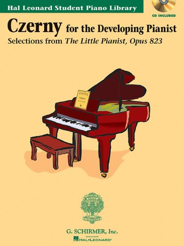 Download Czerny-Selections from the Little Pianist, Opus 823 - Book/CD Pack: Technique Classics Hal Leonard Student Piano Library Book/CD Pack ebook