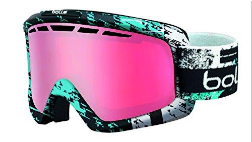 Bolle Nova II Goggles, Matte Black/Blue, Vermillion Gun - Modulator Vermillion Bolle Ski Goggles