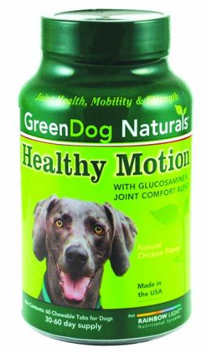 GreenDog Naturals Heathy Motion, 60 Chewable Tablets, My Pet Supplies