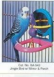 Penn-Plax - Jingle Bird With Mirror & Perch