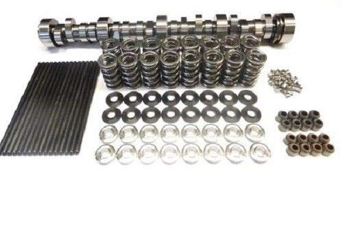 BRIAN TOOLEY BTR Turbo LS Stage 2 Cam, Spring Kit with Titanium Retainers and Chromoly Pushrods - LS1 LS2 LS3 LQ4 LQ9 LM7 4.8 5.3 6.0 6.2