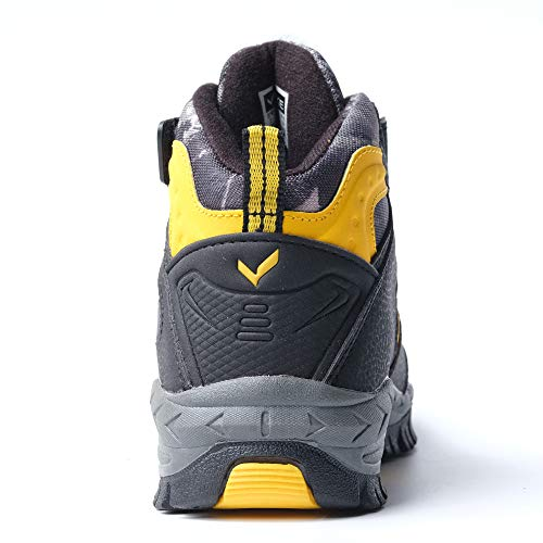 Pictures of Kid Hiking Boots Waterproof Thick Warm Snow 8
