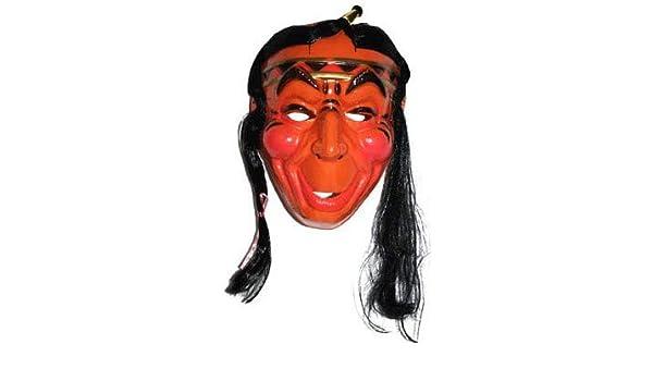 Lote/Conjunto de 6 Piezas - Máscara de Indio con el Pelo: Amazon.es: Juguetes y juegos