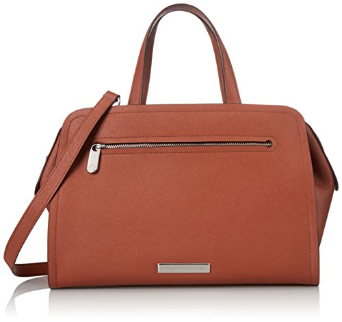 Cinnamon Leather Handbags (Marc by Marc Jacobs Luna Saffiano Alaina Top Handle Bag, Cinnamon Stick, One Size)