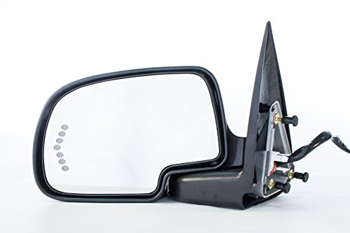 - Left Driver Side Door Mirror Heated Power-Folding for Chevy Silverado Suburban Tahoe Avalanche, GMC Sierra 1500 2500 3500 Yukon XL (2000 2001 2002 2003 2004 2005 2006 2007) GM1320373