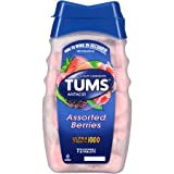 Tums Ultra Strength 1000 Assorted Berries Antacid/Calcium Supplement, 72 Chewable Tablets