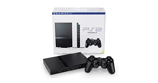 Amazon Com Playstation 2 Console Slim Ps2 Artist Not Provided