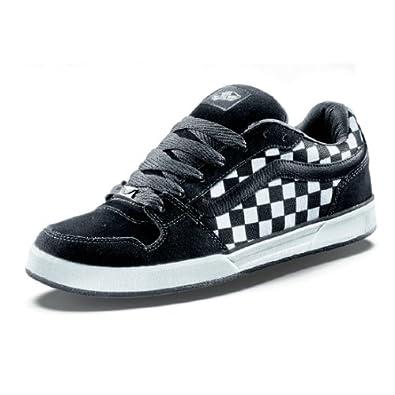 Vans bucky lasek 3 black white check skate shoes uk 9 for Vans amazon