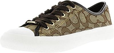 Coach Women's Empire Outline Signature Canvas Fashion Sneaker