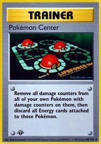 Pokemon - Center (85/102) - Base Set