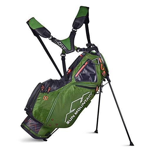 (Sun Mountain Golf 2019 4.5 LS 14-Way Stand Bag (Green|Black) )