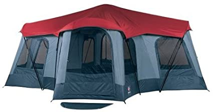 amazon com wenger massif ii 4 room radical dome tent family