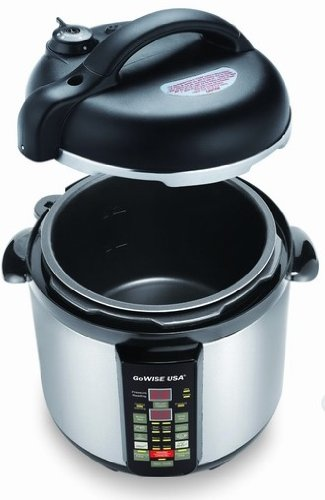 Gowise USA 6-in-1 Electric Stainless-steel Pressure Cooker/slow Cooker (6 qt)