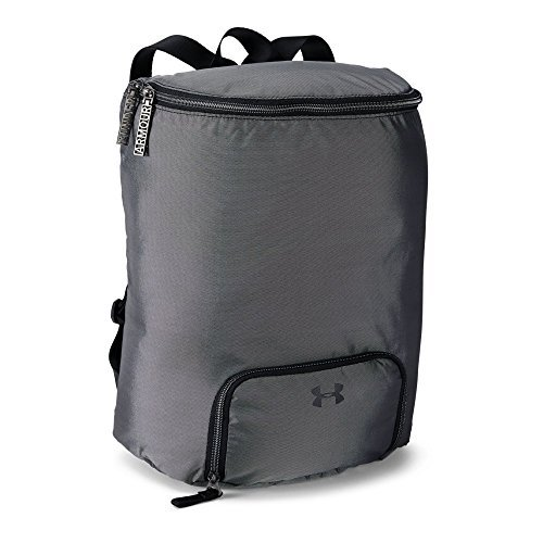 Under Armour Women's Midi Backpack, Black (001)/Black, One Size [並行輸入品] B07F4DR9ZS