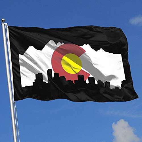 Colorado Flag Flag 3x5-Flags 90x150CM-Banner 3'x5' FT