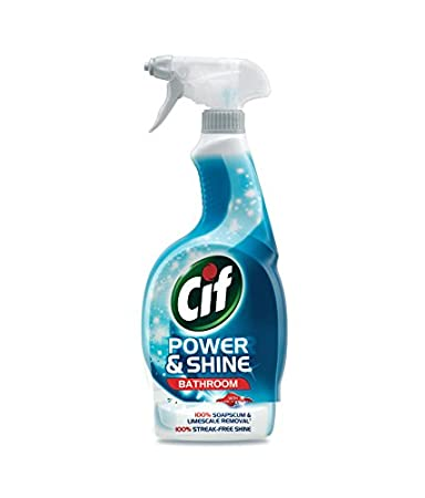 Cif Power And Shine Bathroom Cleaner   700 Ml