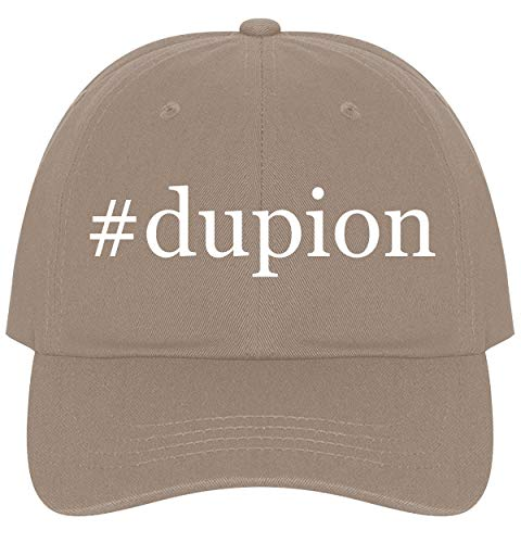 The Town Butler #Dupion - A Nice Comfortable Adjustable Hashtag Dad Hat Cap, Khaki, One Size