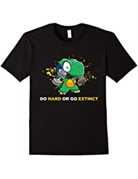 Funny Cute Dinosaur Gym T-shirts Funny Workout Shirts