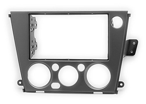 Carav 11-664 Car Stereo Radio installation frame Double Din in Dash Facia Fascia Kit for SUBARU Legacy Outback 2005-2009 (Manual Air-Conditioning/Left wheel) with 17398mm 178100mm 178102mm by CARAV (Image #4)