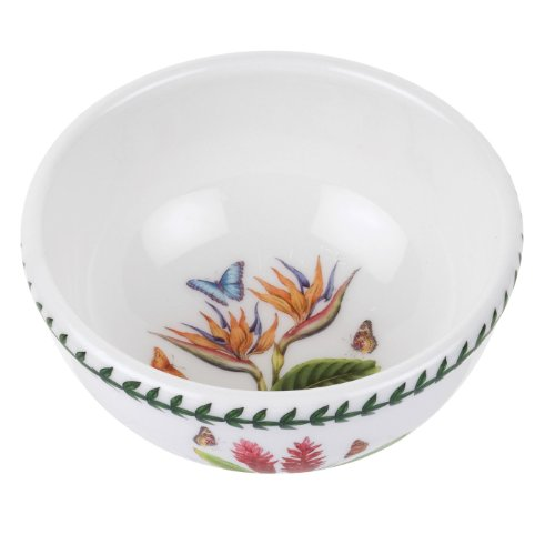 Botanic Garden Fruit Bowl - Portmeirion Exotic Botanic Garden Individual Fruit Salad Bowl with Bird of Paradise