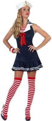 Atosa 97204 - Disfraz de marinero para mujer, talla M-L: Amazon.es ...