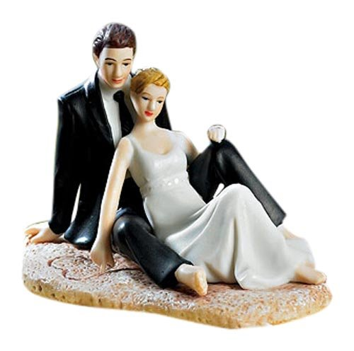 Amazoncom Weddingstar Romantic Wedding Couple Lounging on the