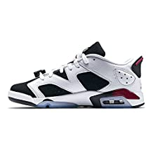 jo theakston Jordan Retro White White White and Black (2) Basketball Running Sneakers Leather Athletic Shoes For   - B01MXGU6J4 - 36b546