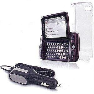 OEM T-Mobile Sidekick LX (2009) 3-Pack (Clear Cover, Screen Protector & Car - Sidekick Screen Protector