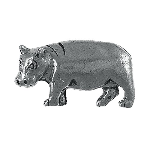 Hippopotamus Lapel Pin - 100 Count by Jim Clift Design