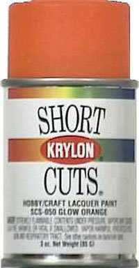 3 Oz Glow Orange Short Cuts® Spray Paint [Set of 6] ()