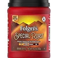 Folgers Special Roast Medium Roast Ground Coffee, 10.3 Ounces