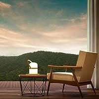 LUUK LIFESTYLE Lámpara de jardín LED de Exterior, luz de jardín, Linterna, lámpara, luz LED, terraza, Linterna de Interior, Exterior, Regulable, Recargable, conexión USB: Amazon.es: Bricolaje y herramientas