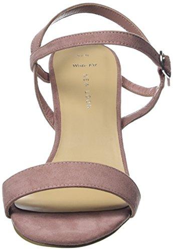 Niu col Pink Aperta Scarpe Rosa New Tacco Wide 71 Look Foot TIMMS Donna Punta 74fwxa1Aqw
