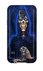 Muriel Alaa Malaih's Shop Best Galaxy S5 Case Cover Skin : Premium High Quality Skeleton Case