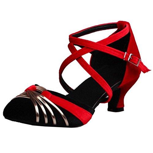 Scarpe Donne Mode Danza Partito Melady Sizes Black Big U8Oxq