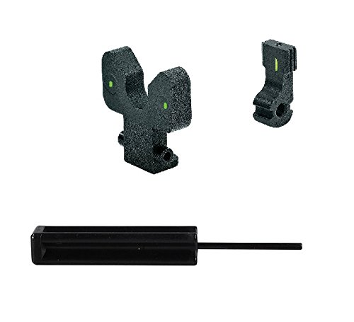 Meprolight ML39520G GALIL RIFLE (PRE 2008) GREEN FRONT & GREEN REAR Tritium Sight Set + Ultimate Arms Punch Tool