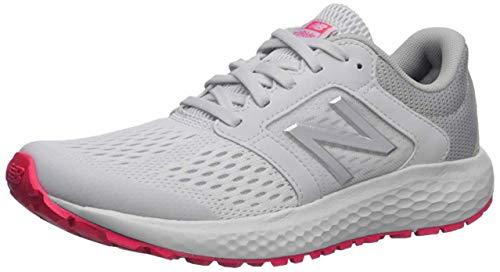 New Balance Women's 520v5 Cushioning Running Shoe, summer fog/guava/team away grey, 9 W US