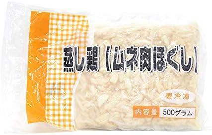 【業務用】蒸し鶏 ムネ肉ほぐし 500g