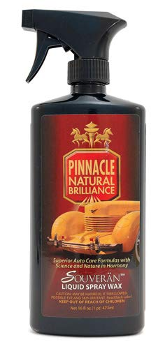 Pinnacle Natural Brilliance PIN-375 Souveran Liquid Spray Wax, 16 fl. oz.