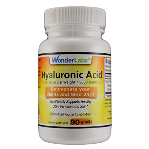 Hyaluronic Acid Rooster Comb Extract - 90 Softgels #6451