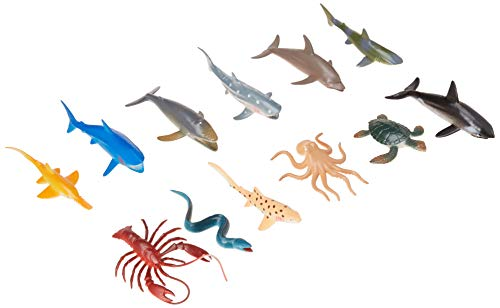 US Toy Assorted Ocean Sea Animals Action Figure (Lot of 12) -