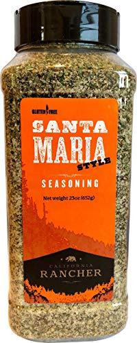 (Santa Maria Style Seasoning by California Rancher - GMO Free - steak seasoning, chicken, 23oz (23))