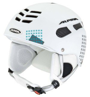 Skihelm Alpina Nuts 2.0 Modell 2011 div. Farben, Farbe:weiss ...