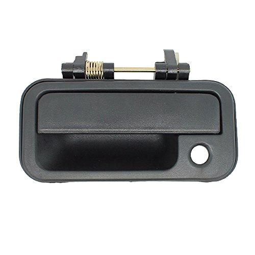 Outside Door Handle - Front Left Driver Exterior - smooth Black