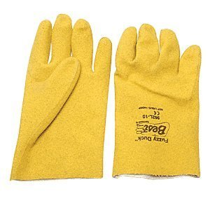 Fuzzy Duck PVC Gloves - Large ()